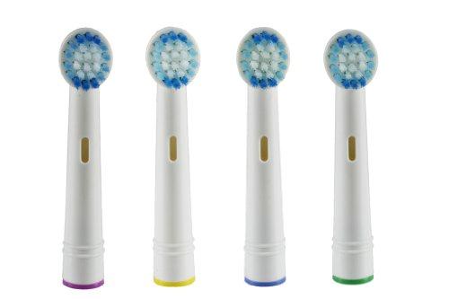 Genérico de Oral B cepillo Compatible cabeza recambio Oral b (cuenta 4)
