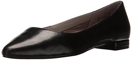 Women's Flat Leather Hey Black Ballet Girl Aerosoles RZgqw