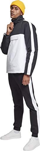 01248 Multicolor Hombre Classics Chaqueta Para Urban white black qwvA0W1