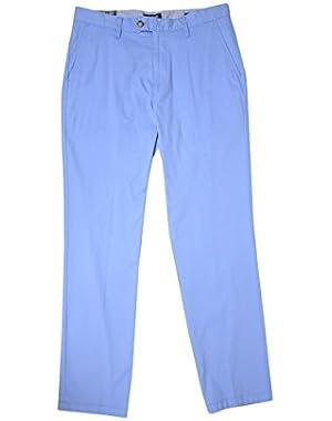 Men's Slim Fit Flat Front Pants