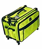 Large Lime Tutto Mascot Sewing Machine on Wheels Carrier Case