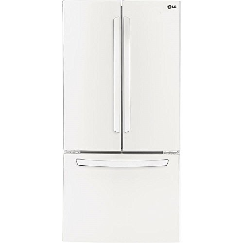 Lg Lfc24770sw 24 0 Cu Ft Smooth White French Door