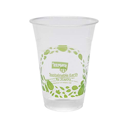 (Sustainable Earth 905201 Cold Cups 16 Oz. Translucent 300/Cs (Seb40146-Cc))