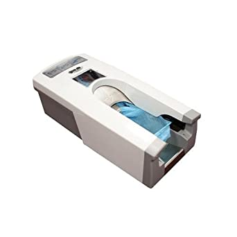 Automatic Shoe Cover Dispenser Includes Covers
