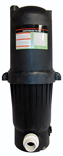 Deluxe Cartridge Filter System with Pressure Gauge for Swimming Pools - 200SF by Pooline