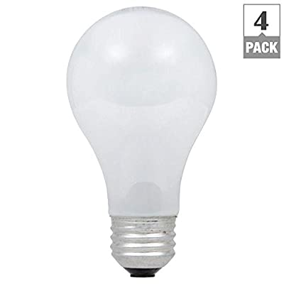100W Equivalent Incandescent A19 Soft White Dimmable Light Bulb (4-Pack)