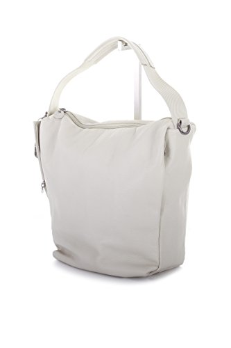 Mandarina Duck Borsa in pelle Shopping Bag Mellow Leather Mud