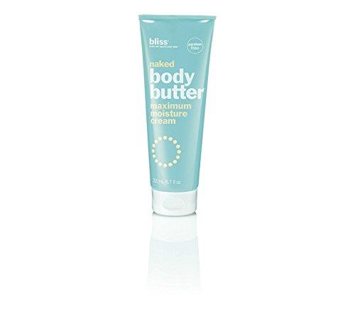 bliss naked body butter maximum moisture cream 6.7 fl oz brand new Fresh