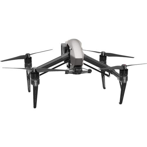 DJI Inspire 2 Quadcopter with CinemaDNG and Apple ProRes Licenses
