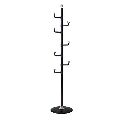 LIANGJUN Floor Standing Coat Rack Hat Stand Hanger Single Ro