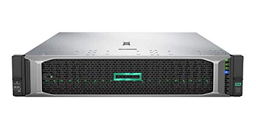 Price comparison product image HP ProLiant DL380 Gen 10 Business Server Computer,  2 Intel Silver 4110 8 Core CPUs,  64GB RAM,  7.2TB Enterprise SAS HDDs,  RAID,  3 Years Warranty