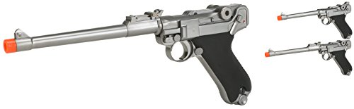 Evike - WE WWII Full Size/Metal Luger Airsoft Gas Blowback for sale  Delivered anywhere in USA