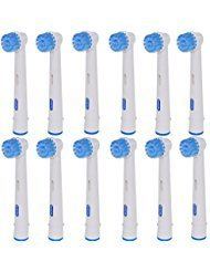 ITECHNIK Sensitive Brush Heads EB17S for Oral-B Toothbrush Heads Replacement, Compatible with Oral-B SmartSeries, Oral-B PRO, Oral-B Vitality, EB17S of 12 Pack