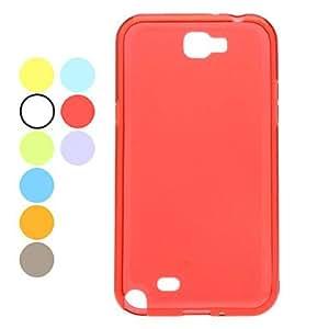 comprar Plástico durable Samsung Mobile Phone Back Covers para N7100 (10 colores) , Azul Claro