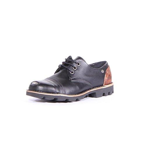 Diesel Steel Low Hombres Cuero Zapatos