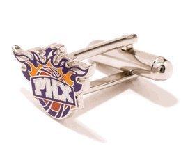 Phoenix Suns Cufflinks - NBA Basketball Sports Themed Formal Wear by Cufflinks