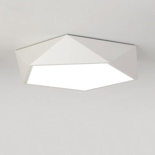LightInTheBox Led Ceiling Light Bedroom Ceiling Lamps Modern Acrylic Brief Flush Mount Chandelier Lighting Fixture White Color for Dining Room (Lights Bedroom Modern Ceiling)