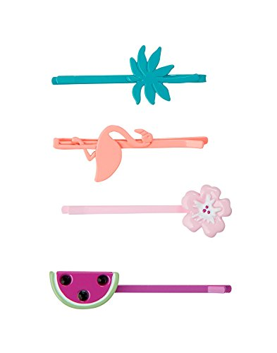 Berry Pin - Gymboree Little Girls' Tropical Bobby Pin Set, Berry, NS