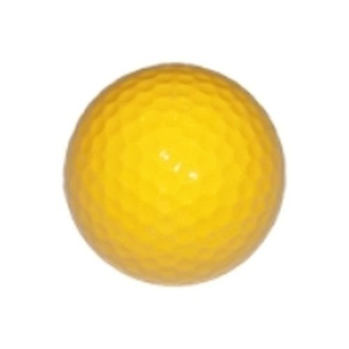 Golf Keepsake (Yellow Colored Golf Balls (Blank) - Suitable for Game Play, Gifts, Awards, Keepsakes, Decorations, Arts and Crafts, Mini Golf, Arts and Crafts, and Autographs (Pack of 3))