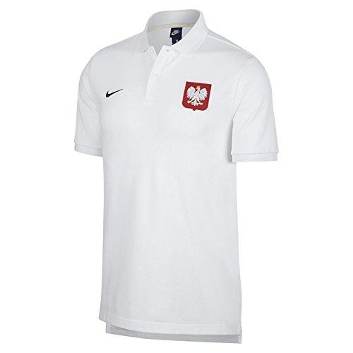 アスペクトシャックルカウンターパート2018-2019 Poland Nike Core Pique Polo Shirt (White)