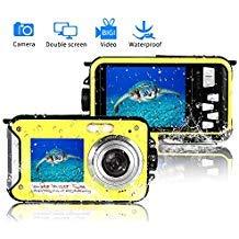 Underwater Camera 24.0MP Waterproof Digital...