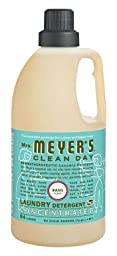 MRS. MEYER\'S LAUNDRY DET,2X,BASIL, 64 FZ