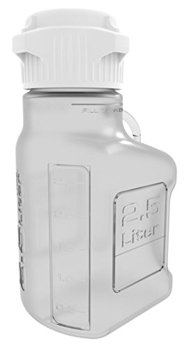 Foxx Life Sciences - 2.5L (0.5 Gal) PETG Carboy with 83mm Cap by Foxx Life Sciences