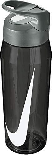 Nike TR Hypercharge 24 oz Straw Bottle (Anthracite/Grey/White)