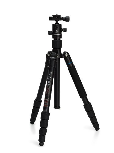 Benro A1692TB0 Travel Angel II Tripod Kit -Aluminum Twist Lock Legs with B0 Head (Black) -
