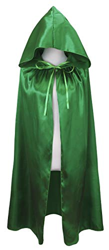 Costumes For Halloween Ireland (VGLOOK Kids Halloween Costumes Christmas Cloak with Hood Ages 8 to16)