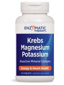 Enzymatic Therapy Krebs Magnesium-Potassium Chelates, 120 Tablets by Enzymatic Therapy