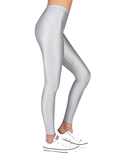 PCP Women's Jacqueline Silver Leggings Silver by PCP