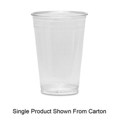 Dixie Crystal Clear Cup (Dixie Foods Products - Cold Drink Cups, 12 oz., 500/CT, Clear Plastic - Sold as 1 CT - Crystal clear cups are designed specifically for use with cold beverages. Ideal for the breakroom or reception area. Plastic cups offer a strong, durable, shatterproof and highly flexible construction.)