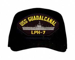 USS Guadalcanal LPH-7 Ships Ball Cap