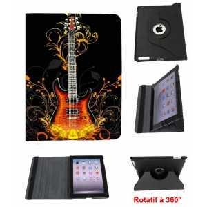 Guitare Tab - Leather Flip Case iPad AIR Guitare