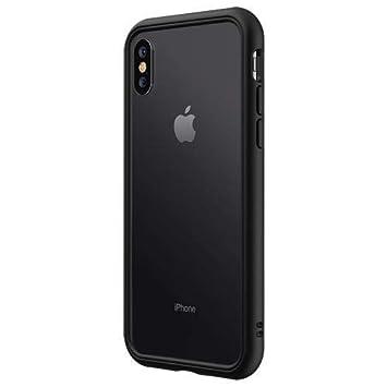 sale retailer 25696 9a0e9 RhinoShield Bumper pour iPhone XS Max [CrashGuard NX] Housse Fine avec  Technologie Absorption des Chocs [Résiste aux Chutes de Plus de 3,5 mètres]  - ...