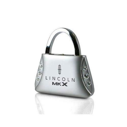Lincoln MKX Clear Crystals Purse Shape Key Chain Au-Tomotive Gold INC