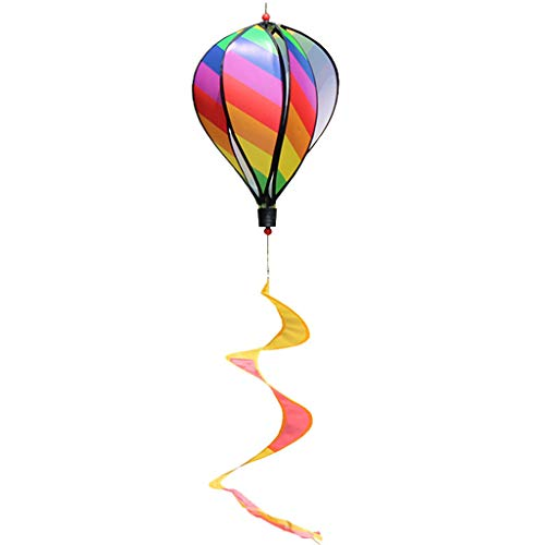 MEIYIN Hot Air Balloon Toy Windmill Spinner Garden