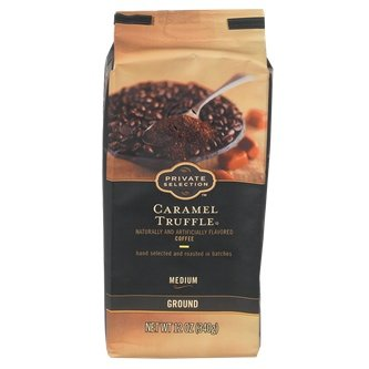 Private Selection Caramel Truffle Ground Coffee 12oz, pack of 1