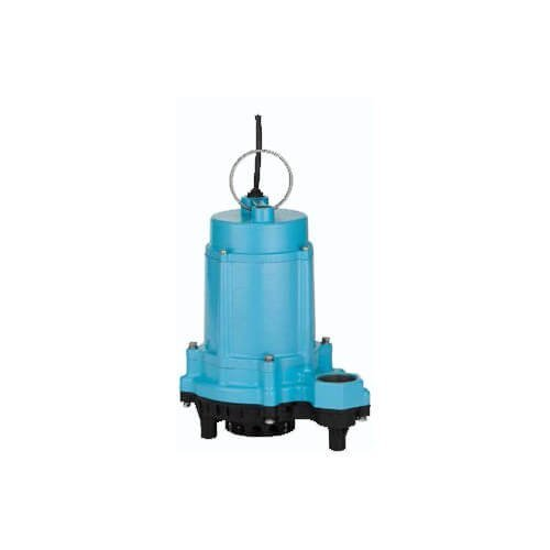 6EC-CIM 1/3 HP, 53 GPM - Manual Submersible Sump Pump, 10 ft. Power - Submersible Pump Manual Sump Gpm