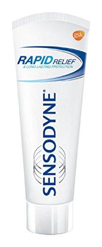 Sensodyne Sensitive Toothpaste Rapid Relief – 80 gm Pack of 2
