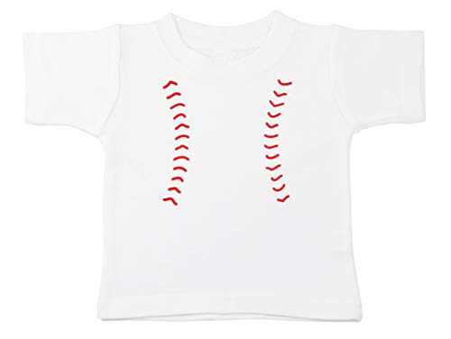 (Kinacle Baseball Baby/Toddler T-Shirt (3T, White))