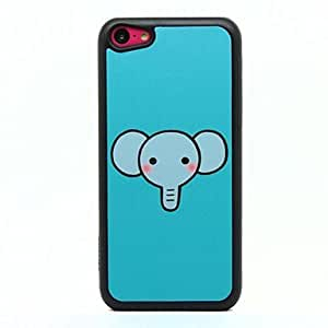 CECT STOCK Pattern Blue Elephant duro caso para iPhone 5C