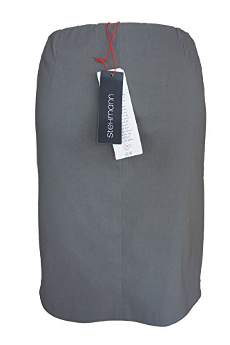 Stehmann Bleistiftrock Delano-556, gefüttert, grau, 36