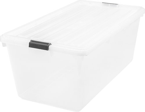 iris-91-quart-buckle-down-storage-box-clear-pack-of-1