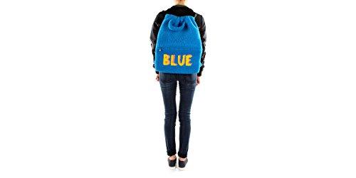 à Fendi Bananes Bleu et Fourrure Sacs dos 7VZ0346IJ Unisex 5q5Iw6