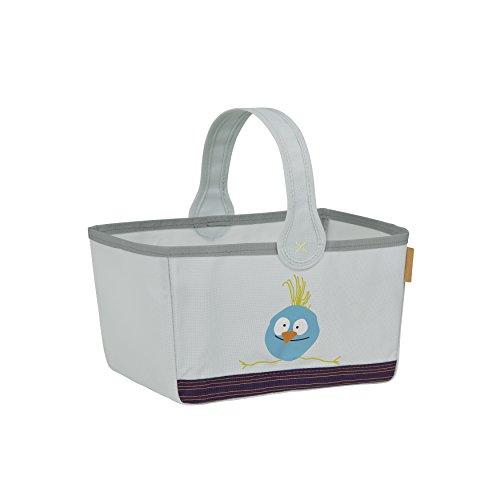 Lässig Storage Nursery Caddy Aufbewahrungstasche für Kinderzimmer, Wildlife Birdie