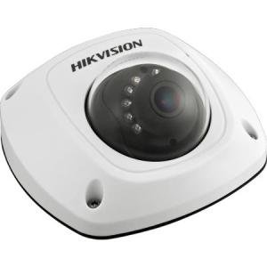 HIKVISION HD Smart 4 Megapixel PoE Mini Dome IP Outdoor Surveillance Camera, 2.8mm Lens, White (US Version) by Hikvision