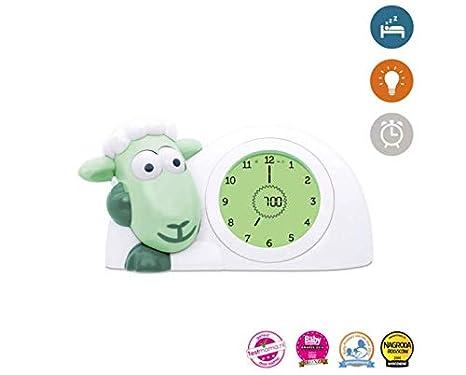 Zazu Sam Mint - Despertador con reloj digital para aprender ...