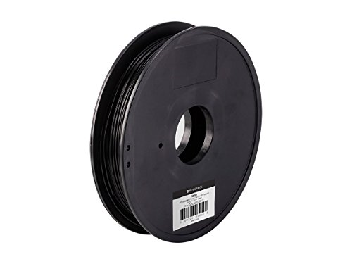 Monoprice ABS Plus+ Premium 3D Filament - Black - 0.5kg, 1.75mm Thick   40% Stronger Than Ordinary ABS   For All ABS Compatible Printers